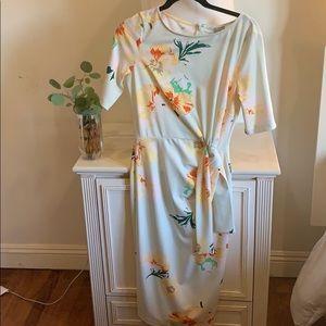 Garden dress- pistachio green